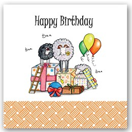 Birthday Sheep Occasions Card