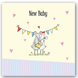 New Baby Mouse Occasions Card