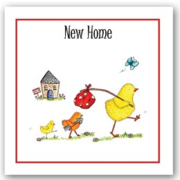 New Home Chick Occasions Card