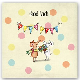 Good Luck Mouse Occasions Card