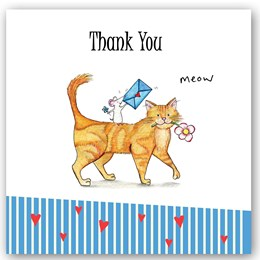 Thank You Cat Occasions Card