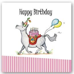 Birthday Pony Occasions Card