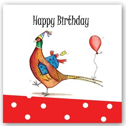 Birthday Pheasant Occasions Card