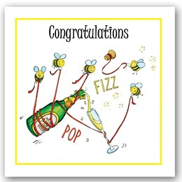 Congratulations Bees Occasions Card