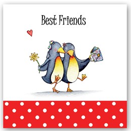 Best Friend Penguins Occasions Card