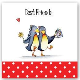 Best Friend Penguins Occasions Card