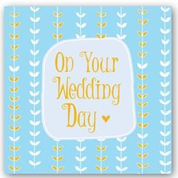 Wedding Day Foiling Card