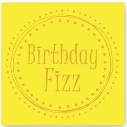 Birthday Fizz Foiling Card