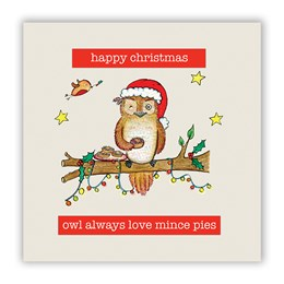 Owl Always Love Christmas Card