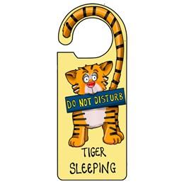 Tiger Sleeping Door Hanger
