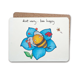 Bee Happy Table Mat