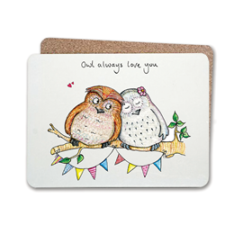 Owl Always Table Mat