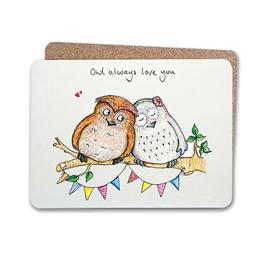 Owl Always Table Mat