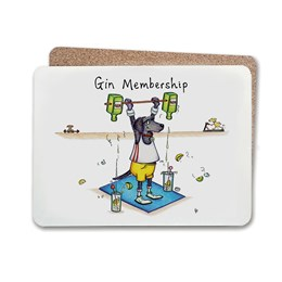 Gin Membership Table Mat