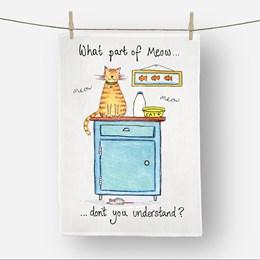 Meow Tea Towel
