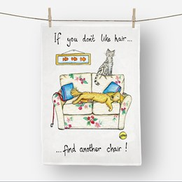 Sit Elsewhere Tea Towel