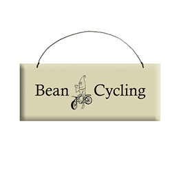 Bean Cycling Sign