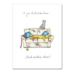 Sit Elsewhere Greeting Card