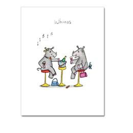 Whinos Greeting Card