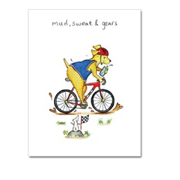 Mud Sweat and Gears Greeting Card