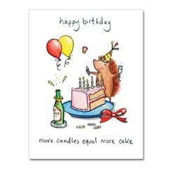 More Candles Greeting Card