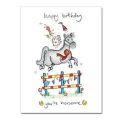 Horseome Greeting Card