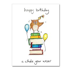 Wiser Greeting Card