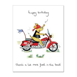 Fuel Tank Greeting Card