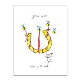 Bee Brilliant Greeting Card