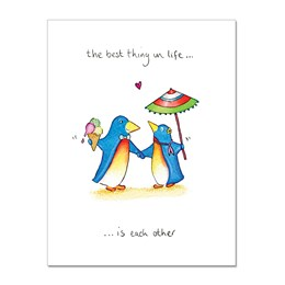 Each Other Greeting Card