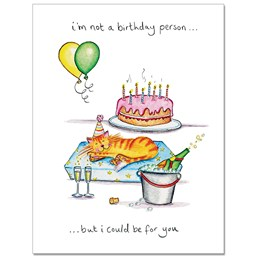 Birthday Person Greeting Card