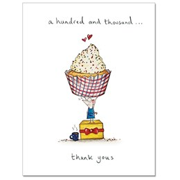 Hundred Thousands Greeting Card