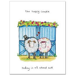 All about Ewe Greeting Card