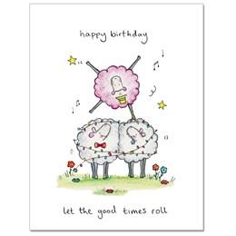 Good Times Greeting Card