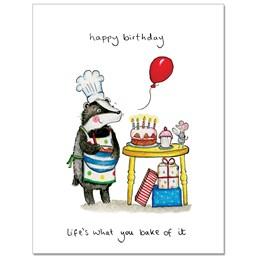 You Bake it Greeting Card