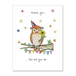 Owl you do Greeting Card