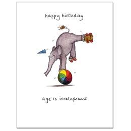 Irrelephant 2 Greeting Card