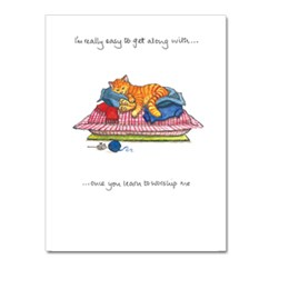 Worship Me Greeting Card
