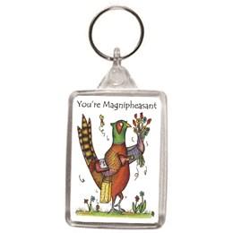 Magnipheasant Key Ring