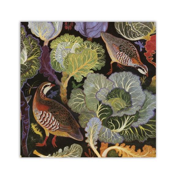 Partridges Greeting Card