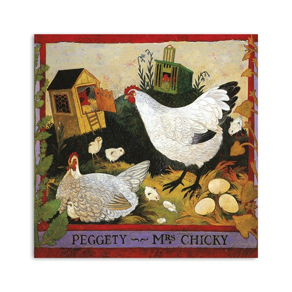 Peggety Greeting Card