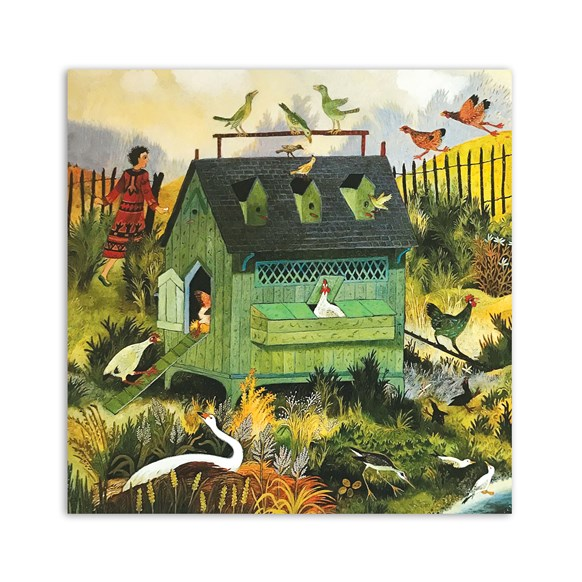 Busy Birds Greeting Card