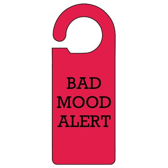 Bad Mood Door Hanger
