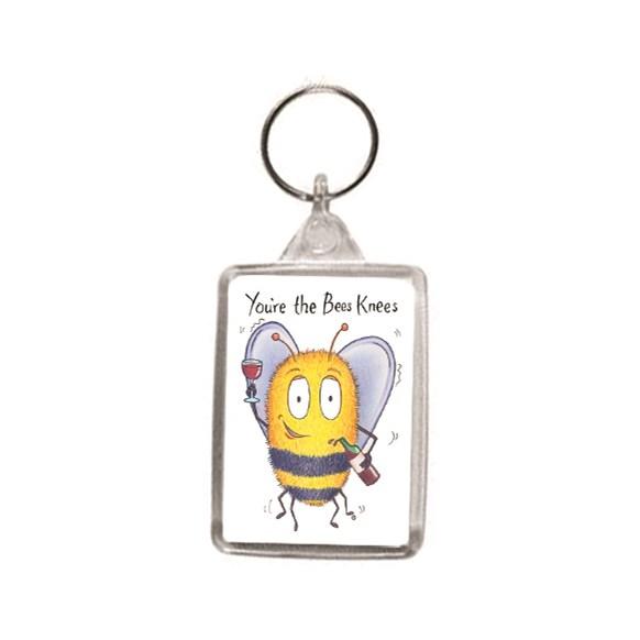 Bees Knees Key Ring