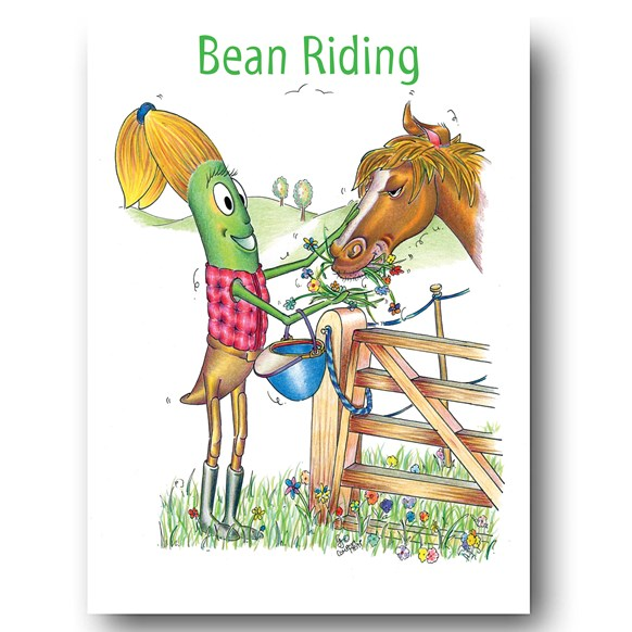Riding Greeting Card
