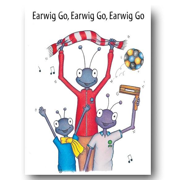 Earwig Go Greeting Card