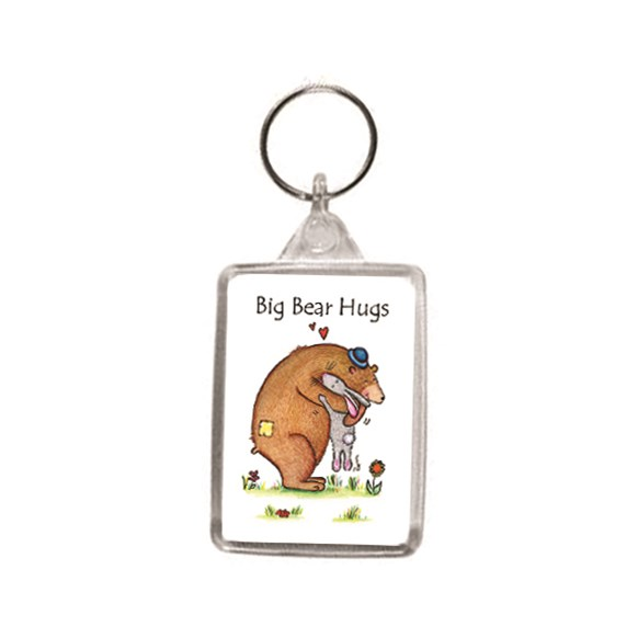 Big Bear Hugs Key Ring