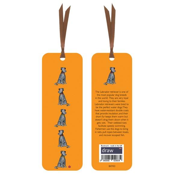 Labrador Bookmark Orange