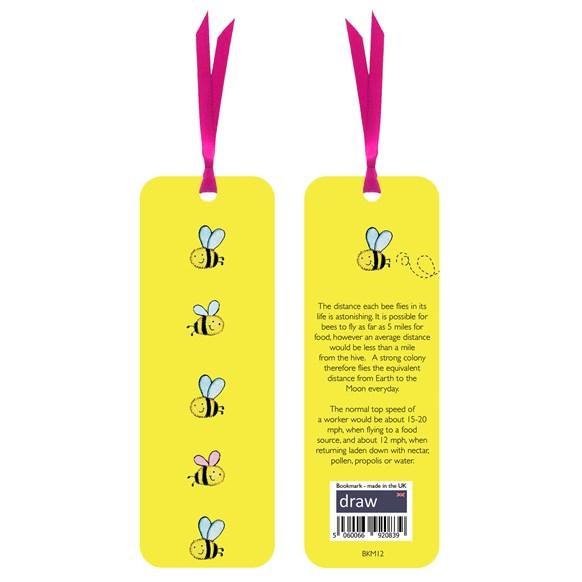 Bee Bookmark Yellow