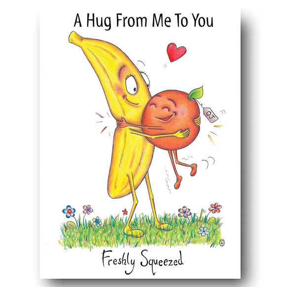 Squeeze Greeting Card